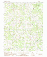 Download a high-resolution, GPS-compatible USGS topo map for Dawson, MO (1987 edition)