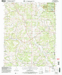 Download a high-resolution, GPS-compatible USGS topo map for Dawson, MO (2006 edition)