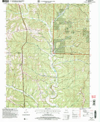 Download a high-resolution, GPS-compatible USGS topo map for Day, MO (2006 edition)