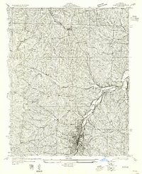 Download a high-resolution, GPS-compatible USGS topo map for De Soto NE, MO (1955 edition)