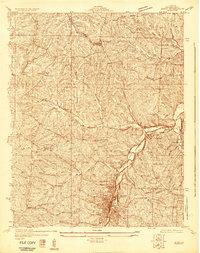 Download a high-resolution, GPS-compatible USGS topo map for De Soto NE, MO (1930 edition)