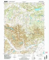 Download a high-resolution, GPS-compatible USGS topo map for Defiance, MO (2003 edition)