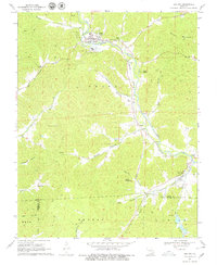 Download a high-resolution, GPS-compatible USGS topo map for Des Arc, MO (1979 edition)
