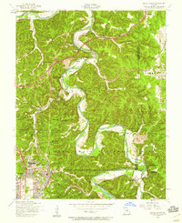 Download a high-resolution, GPS-compatible USGS topo map for Devils Elbow, MO (1959 edition)