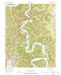 Download a high-resolution, GPS-compatible USGS topo map for Devils Elbow, MO (1972 edition)