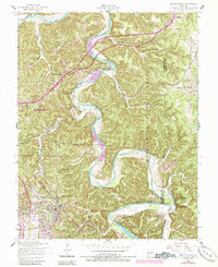 Download a high-resolution, GPS-compatible USGS topo map for Devils Elbow, MO (1985 edition)