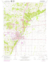 Download a high-resolution, GPS-compatible USGS topo map for Dexter, MO (1979 edition)