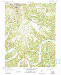 Download a high-resolution, GPS-compatible USGS topo map for Dixon, MO (1991 edition)