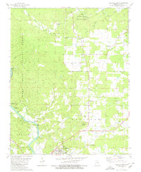 Download a high-resolution, GPS-compatible USGS topo map for Doniphan North, MO (1980 edition)