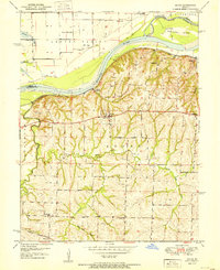 Download a high-resolution, GPS-compatible USGS topo map for Dover, MO (1951 edition)