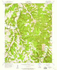 Download a high-resolution, GPS-compatible USGS topo map for Drew, MO (1959 edition)
