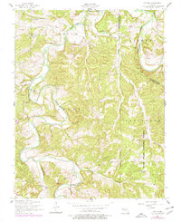 Download a high-resolution, GPS-compatible USGS topo map for Drynob, MO (1977 edition)