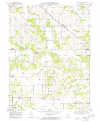 Download a high-resolution, GPS-compatible USGS topo map for Durham, MO (1977 edition)