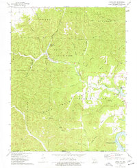 Download a high-resolution, GPS-compatible USGS topo map for Eagle Rock, MO (1977 edition)