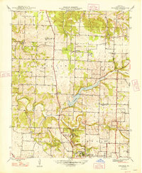 Download a high-resolution, GPS-compatible USGS topo map for Ebenezer, MO (1948 edition)