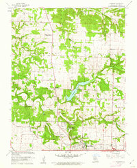 Download a high-resolution, GPS-compatible USGS topo map for Ebenezer, MO (1962 edition)
