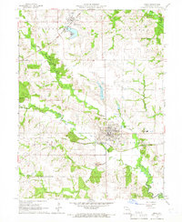 Download a high-resolution, GPS-compatible USGS topo map for Edina, MO (1966 edition)