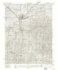Download a high-resolution, GPS-compatible USGS topo map for Eldon, MO (1957 edition)