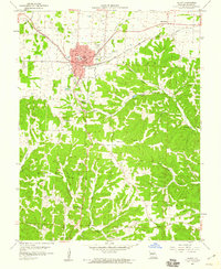 Download a high-resolution, GPS-compatible USGS topo map for Eldon, MO (1960 edition)