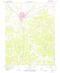 Download a high-resolution, GPS-compatible USGS topo map for Eldon, MO (1975 edition)