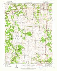 Download a high-resolution, GPS-compatible USGS topo map for Eldorado Springs South, MO (1966 edition)