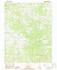 Download a high-resolution, GPS-compatible USGS topo map for Elk Creek, MO (1987 edition)