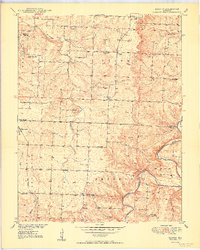 Download a high-resolution, GPS-compatible USGS topo map for Elkton, MO (1950 edition)