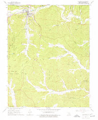 Download a high-resolution, GPS-compatible USGS topo map for Ellington, MO (1977 edition)