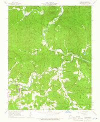 Download a high-resolution, GPS-compatible USGS topo map for Eminence, MO (1966 edition)
