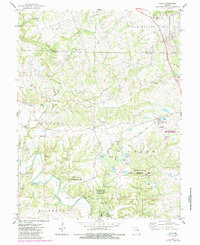 Download a high-resolution, GPS-compatible USGS topo map for Eolia, MO (1985 edition)