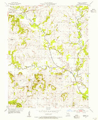 Download a high-resolution, GPS-compatible USGS topo map for Everett, MO (1955 edition)