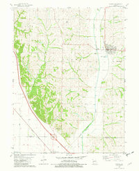 Download a high-resolution, GPS-compatible USGS topo map for Fairfax, MO (1982 edition)