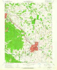 Download a high-resolution, GPS-compatible USGS topo map for Farmington, MO (1965 edition)