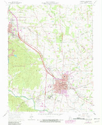 Download a high-resolution, GPS-compatible USGS topo map for Farmington, MO (1982 edition)
