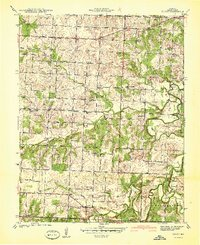 Download a high-resolution, GPS-compatible USGS topo map for Filley, MO (1940 edition)