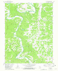 Download a high-resolution, GPS-compatible USGS topo map for Fletcher, MO (1982 edition)