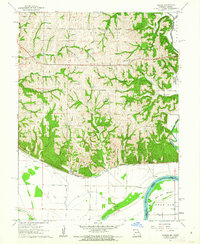 Download a high-resolution, GPS-compatible USGS topo map for Forbes, MO (1962 edition)
