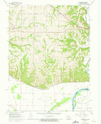 Download a high-resolution, GPS-compatible USGS topo map for Forbes, MO (1973 edition)