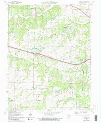 Download a high-resolution, GPS-compatible USGS topo map for Foristell, MO (1982 edition)