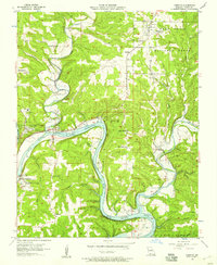 Download a high-resolution, GPS-compatible USGS topo map for Forsyth, MO (1957 edition)