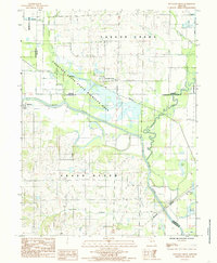 Download a high-resolution, GPS-compatible USGS topo map for Fountain Grove, MO (1985 edition)