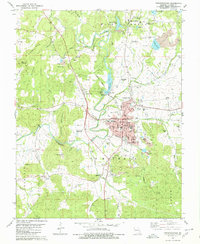 Download a high-resolution, GPS-compatible USGS topo map for Fredericktown, MO (1980 edition)