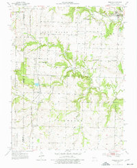 Download a high-resolution, GPS-compatible USGS topo map for Freeman, MO (1977 edition)