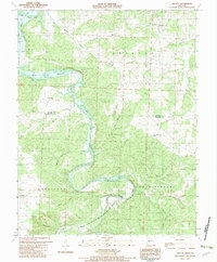 Download a high-resolution, GPS-compatible USGS topo map for Fristoe, MO (1982 edition)