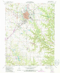 Download a high-resolution, GPS-compatible USGS topo map for Fulton, MO (1986 edition)