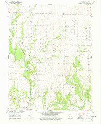 Download a high-resolution, GPS-compatible USGS topo map for Gaines, MO (1978 edition)
