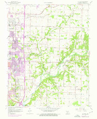 Download a high-resolution, GPS-compatible USGS topo map for Galloway, MO (1975 edition)