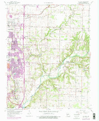 Download a high-resolution, GPS-compatible USGS topo map for Galloway, MO (1976 edition)