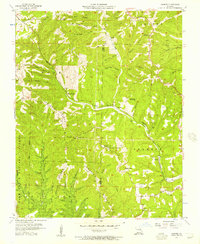 Download a high-resolution, GPS-compatible USGS topo map for Garber, MO (1957 edition)