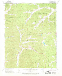 Download a high-resolution, GPS-compatible USGS topo map for Garwood, MO (1969 edition)